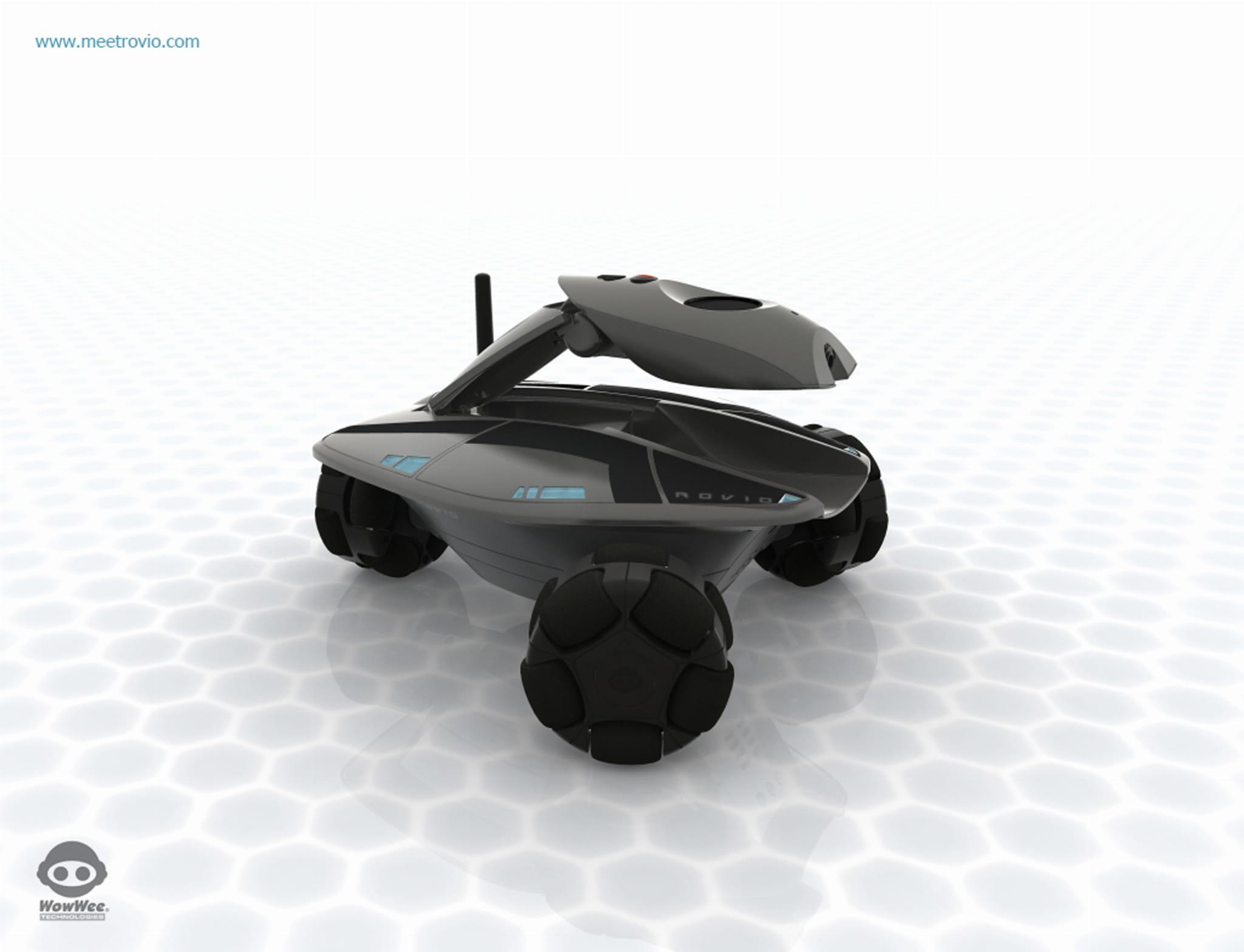 wowwee rovio roboter kamera zur berwachung. Black Bedroom Furniture Sets. Home Design Ideas